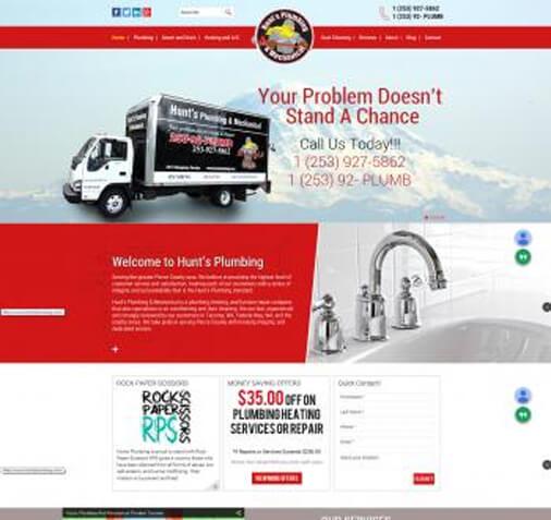 Hunts Plumbing and Mechanical