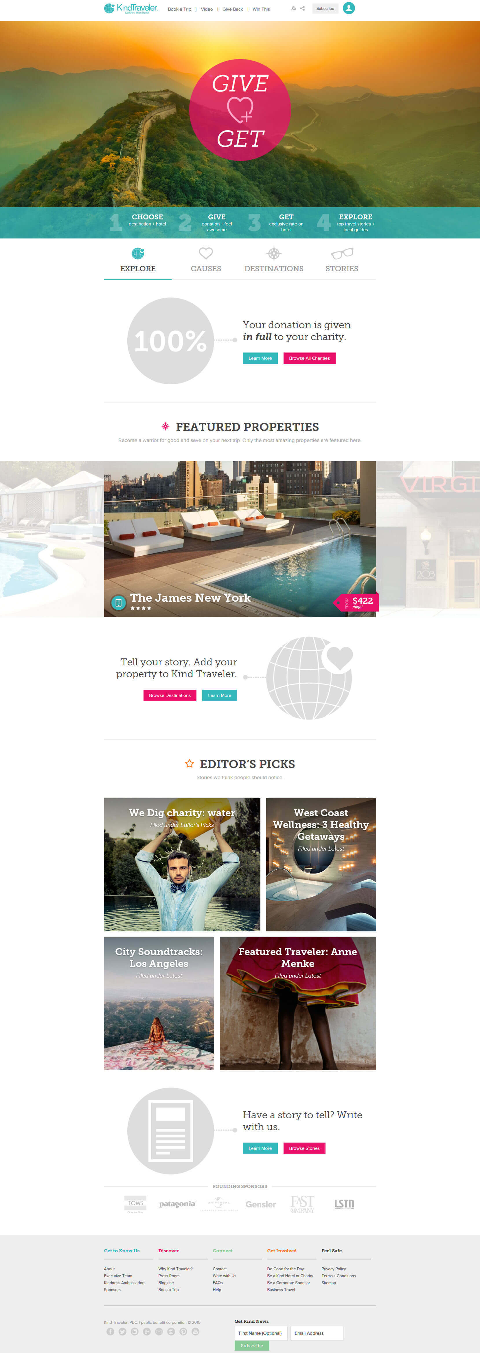 Kind Traveler Travel Booking Online Site